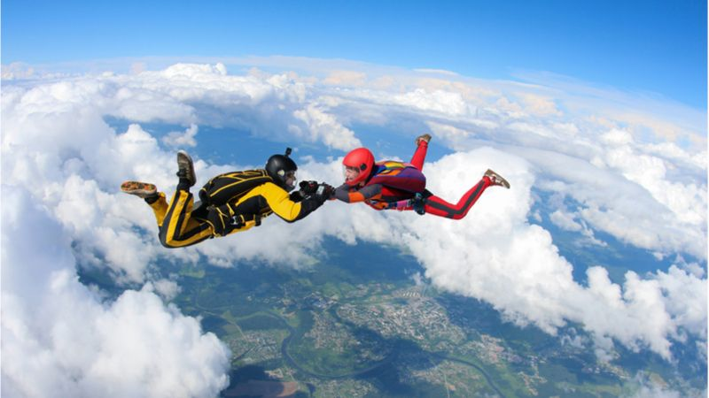 Skydiving To Witness The City From Bird's Eye
